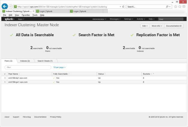 Splunk Index Cluster Config – iOpsMon